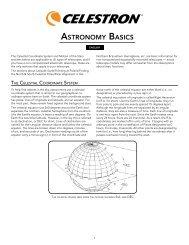 ASTRONOMY BASICS - Celestron