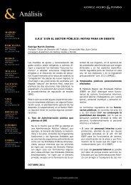 E.R.E´s en el sector público: notas para un debate
