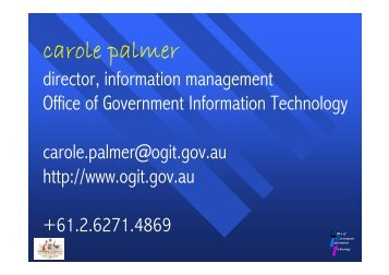 The Business of Information Management