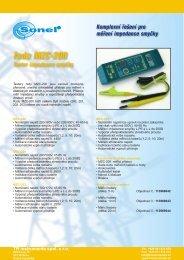řada MZC-200 - TR instruments