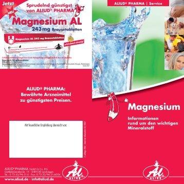Magnesium AL Magnesium AL - Aliud Pharma GmbH & Co. KG