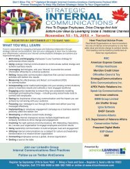 Join our LinkedIn Group Internal Communications Best Practices ...