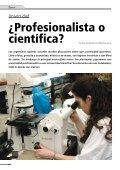 Profesionalista o científica? - Facultad de Ciencias Exactas y ... - Page 6