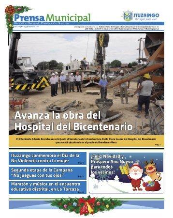 Avanza la obra del Hospital del Bicentenario - Ituzaingó