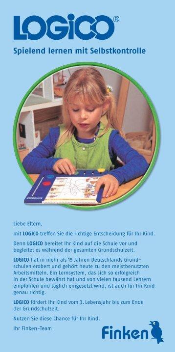 ® Spielend lernen mit Selbstkontrolle - Finken-Verlag