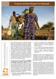 Programa de Aprendizagem em Adaptação - CARE Climate Change