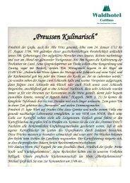 Friedrich der Große - Waldhotel Cottbus