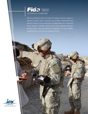 Fido Explosives Technical Overview - FLIR.com