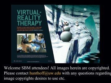 Hunter Hoffman, PhD - Society of Behavioral Medicine