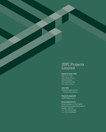 IdfC projects Limited