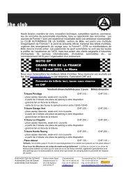 MOTO GP GRAND PRIX DE LA FRANCE 13 - 15 mai 2011, Le Mans