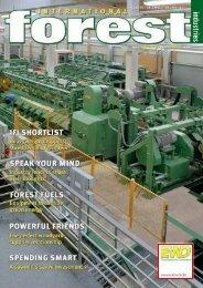 Issue 19 - December 2010 - International Forest Industries (IFI)