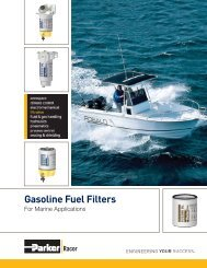 Gasoline Fuel Filters for Marine Applications - Bolland Machine
