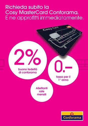 Brochure d'informazione Cosy Card (PDF - 205KB)