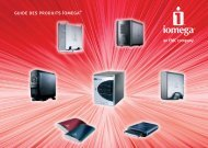 guide des produits Iomega®