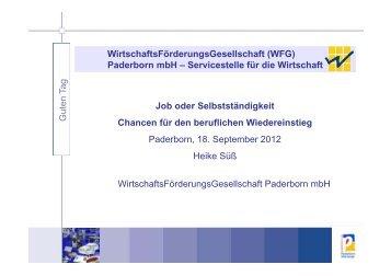 WirtschaftsFörderungsGesellschaft (WFG) Paderborn mbH ...