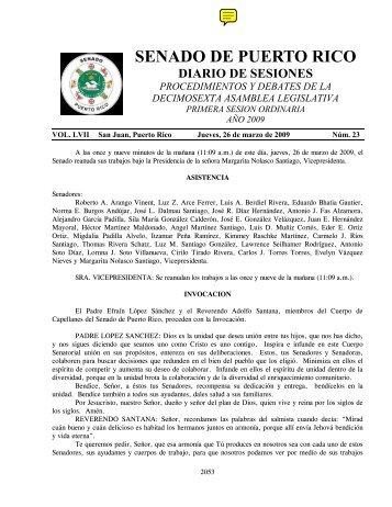 SENADO DE PUERTO RICO - Lists Indymedia