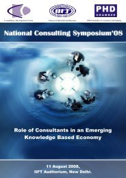 Role of Consultants in an Emerging Knowledge Based Economy