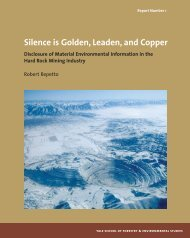 Silence is Golden, Leaden, and Copper - Yale University