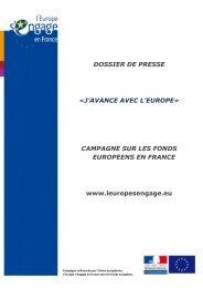 DOSSIER DE PRESSE - Europe en France, le portail des Fonds ...