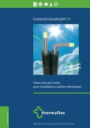 FLEXALEN SOLAR LIGHT TX - Thermaflex