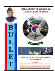 DIRECTORATE GENERAL DEFENCE PURCHASE