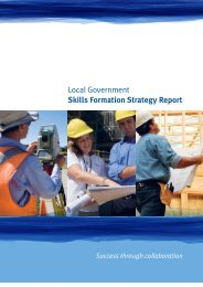 Local Government - Skills Formation Strategy Report - Training ...