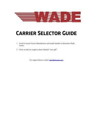 Closet Carriers Wade