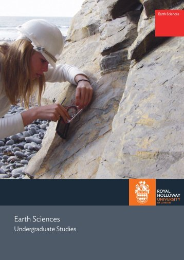 Department of Earth Sciences - Royal Holloway, University of London