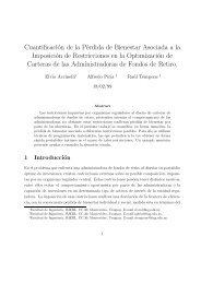 Cuantificación de la Pérdida de Bienestar Asociada a la Imposición ...