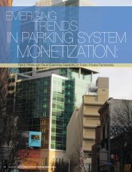 Emerging Trends in Parking System Monetization: Part II: Pittsburgh ...