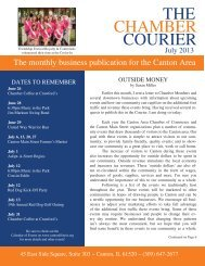THE COURIER CHAMBER - Canton, Illinois