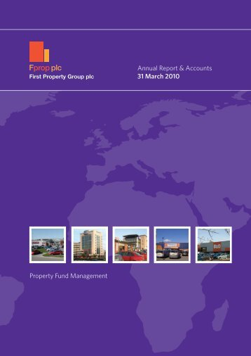 2010 Annual Report & Accounts - First Property Group plc