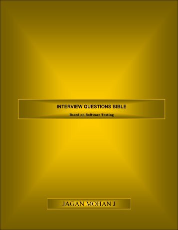 Interview Questions Bible.pdf - Parent Directory