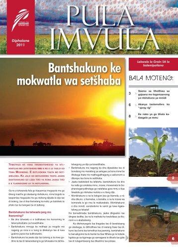 Tswana Oktober.indd - Grain SA Home