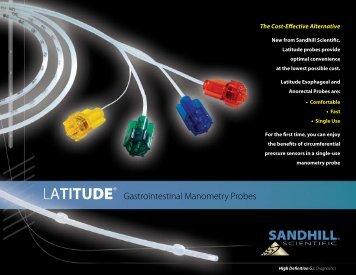 LATITUDE® - Sandhill Scientific