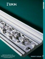 Fypon Mouldings Catalog - Blackstock Lumber Co., Inc.