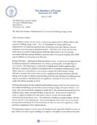 Rhode Island DOE Determination Letter, May 31, 2013