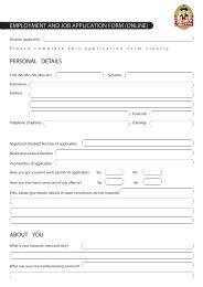 Team Member Application Form - Toby Carvery