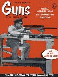 GUNS Magazine March 1960