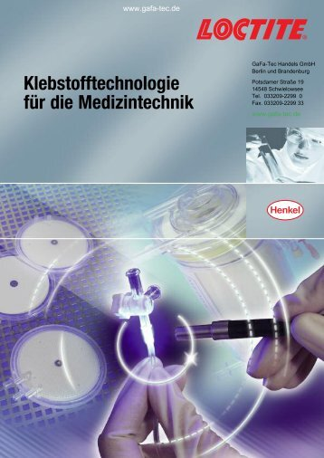 Loctite Medical - Webshop - GaFa Tec Handels GmbH