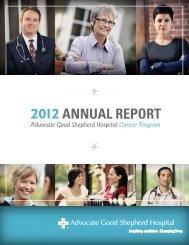 Cancer Annual Report - Advocate Health Care