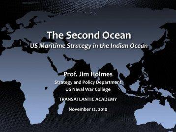 James Holmes' Presentation - Transatlantic Academy