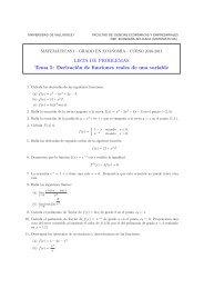 Problemas - Universidad de Valladolid
