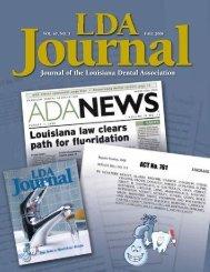 Journal of the Louisiana Dental Association