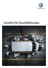 CarePort für Geschäftskunden - Volkswagen Nutzfahrzeuge