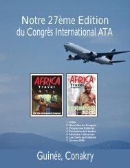 Notre 27ème Edition Guinée, Conakry - Air Highways Magazine