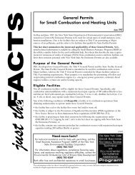 General Permits for Small Combustion and Heating Units