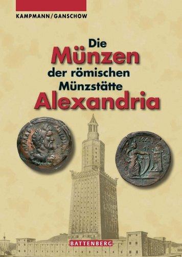 Die Münzen der römischen Münzstätte Alexandria - Gietl Verlag