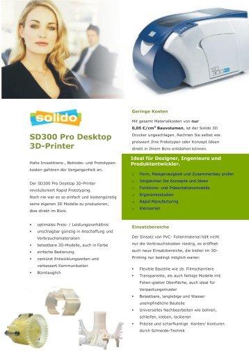 SD300 Pro Desktop 3D-Printer - Battlogg Design